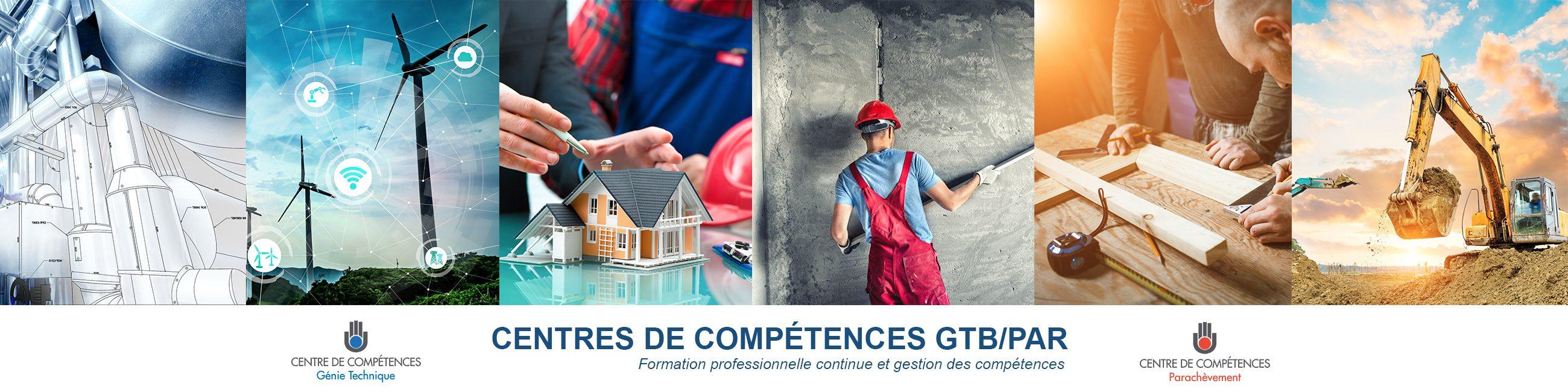CENTRES DE COMPETENCES GTB/PAR